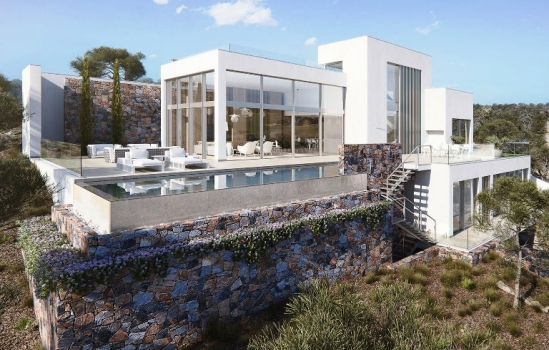 The New build villas in Orihuela Costa are the solution to enjoy the year of the sun
