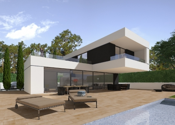 Detached Villa - New - Polop - Polop - Town