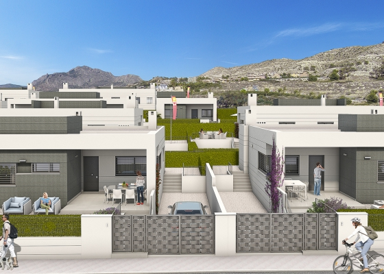 Semi Detached Villa - New - Busot - Bonalba Golf